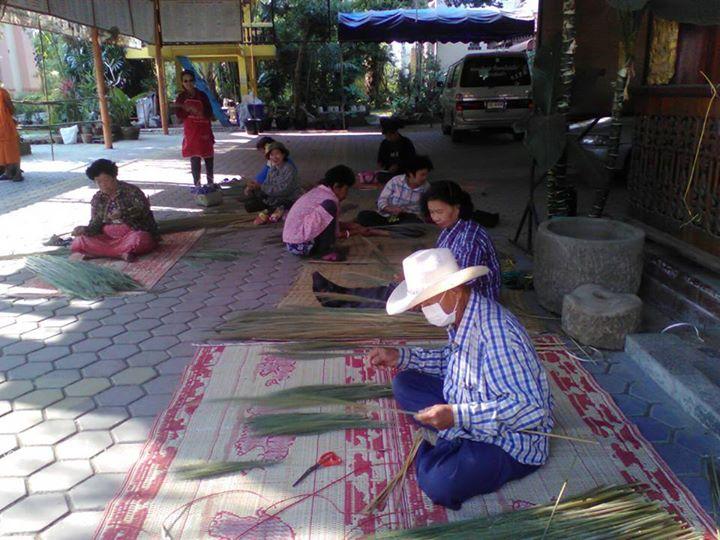 กิจกรรมอาชีพระยะสั้นรูปแบบชั้นเรียนวิชาชีพ สาขาการทำไม้กวาดดอกหญ้า