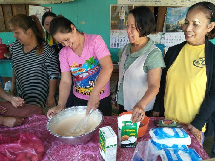 อาชีพระยะสั้นรูปแบบกลุ่มสนใจ หลักสูตรวิชาการทำขนมไทย